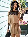 ts blonder soem plissert kjole (flere farger)