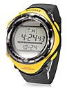 Men\'s Multi-Function Digital Dial Rubber Band Quartz Analog Wrist Watch (Assorted Colors)
