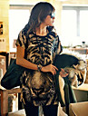 Femeile lui Tiger Print Bluza