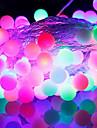 [Newyearsale] 50-conduit 9m eu impermeable brancher exterieure vacances decoration de Noel RGB LED guirlande lumineuse (220v)