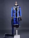 Inspire par Black Butler Ciel Phantomhive Anime Costumes de cosplay Costumes Cosplay Mosaique Bleu Manche LonguesManteau / Chemise /