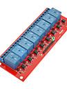 8-kanals 5v relämodul kortet för (för Arduino) (fungerar med den officiella (för Arduino) skivor)