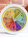 "5 ""Land Typ Fruit Style Alarm Tabletop Clock"