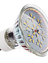 3W GU10 Spot LED MR16 30 SMD 3014 240 lm Blanc Chaud AC 100-240 V