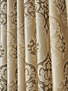 One Panel  Fancy Modern Floral Jacquard Energy Saving Curtains Drapes
