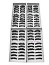 40 Pairs Europeiska Fiber Eyelash Black Lösögonfransar