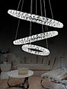 44W Modern/Contemporary Crystal / LED Chrome Metal Pendant Lights Living Room / Dining Room