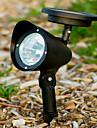 3 LED Outdoor Solar Powered landskap Spot Light LED Yard Garden Path Lawn Lampa (CIS-57231)