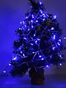 10M 6W 100-420LM LED Bleu Lumiere de bande de LED pour des decorations de Noel avec 8 modes d\'affichage (220V)