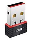 edup ep-n8508 802.11b/g/n 150Mbps trådlös USB-adapter