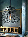 Max 60W Pendant Light ,  Vintage / Retro Painting Feature for Mini Style MetalLiving Room / Bedroom / Dining Room / Entry / Hallway /