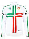 KOOPLUS® Veste de Cyclisme Homme Manches longues Velo Respirable Garder au chaud Doublure Polaire Permeabilite a l\'humidite Vestimentaire
