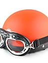 fashionabla harley stil abs material motorcykel halva hjälm (tillval färger)