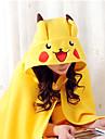 Pokemon Pikachu Coral Fleece Kigurumi Capa