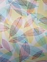 Land Färgglada Löv Mönster fönsterfilm
