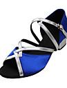 Color Block Suede Övre Arch Strap Dance Sandaler Dansskor för barn eller damer (Mer Colors)