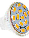 5W G4 LED-spotlights MR11 15 SMD 5730 310-320 lm Varmvit DC 12 V