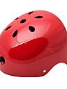 MOON Cykling Röd ABS / EPS Adult 11 Vents Multi-purpose hjälm (Storlek L)
