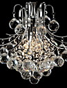 Max 60W Modern/Contemporary Crystal Chrome Chandeliers / Pendant Lights Living Room / Bedroom