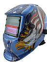 American Eagle Mönster Li Batteri Solar Auto svetsglas hjälm