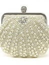 Handcee® Women Clutch Handbag Imitation Pearl Evening Handbags/Clutches With Imitation Pearl