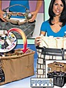Folding Fashion Cosmetic Bag för smink (medelstora)