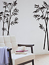 Botaniska Bambu Dekorativa Removable Wall Stickers