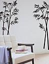 Botaniska Bambu Dekorativa Removable Wall Stickers