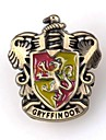 Unisex\'s Harry Potter Gryffindor Logo Alloy Brooch