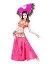 Dancewear Women\'s Polyester Belly Dance Long Fish Tail Skirt(More Colors)
