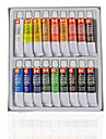 18PCS Peinture Dessin Nail Art professionnelles peinture Kits de pigments