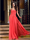 TS Couture® Prom / Formal Evening / Military Ball Dress - Sexy / Open Back Plus Size / Petite Sheath / Column V-neck Floor-length Jersey with Criss