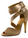 Satin danse Chaussures femme personnalise pour les sandales latine / Salle de bal