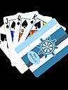 Personalizat cadou Albastru Anchor Striped model carte de joc de poker