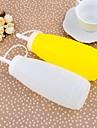 Plastic Sticle condimente 250ml Jam borcane Set de 2 piese, 14.5x5.5cm (Random Color)