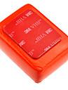 Red Floaty Sponge för Gopro Hero 3 + / 3/2/1 med 3M klistermärke