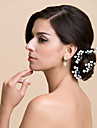 Four Pieces Alloy Wedding/Special Occasion Hairpins With Imitation Pearl