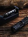 SK68 450LM LED Flashlight + 2x14500 batterie + chargeur