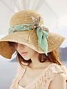 Femei de moda stofe Bowknot Beach Hat