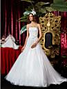 Lanting Bride® Corte en A / Princesa Pera / Tallas pequenas / Manzana / Triangulo Invertido / Cuadrado / Misses / Reloj de ArenaVestido