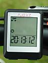 Cykel CykeldatorSPD - Aktuell hastighet / Dst - Distans / Max - Maximal hastighet / Av - Genomsnittlig hastighet / Klocka / Scanna /