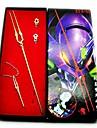 Smycken Inspirerad av NeonGenesis Evangelion Genesis Rhapsodos Animé Cosplay Accessoarer Halsband / Vapen / RingRöd / Guld / Silver /