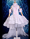 Inspire par Chobits Chii Anime Costumes de cosplay Costumes Cosplay / Robes Lace Blanc Sans Manches Robe / Col / Manche / Brassard