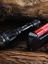 Lampes Torches LED / Lampes de poche LED 5 Mode 2000 Lumens Faisceau Ajustable Cree XM-L T6 18650 / AAA Camping/Randonnee/Speleologie /