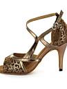 Similicuir superieure chaussures de danse moderne de sandales femme personnalisables avec Buckie