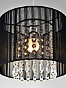 40W Modern/Contemporary Crystal / LED Chrome Metal Pendant Lights Bedroom / Dining Room