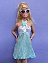 Informel Costumes Pour Poupee Barbie Bleu Ciel Plus d\'accessoires Pour Fille de Doll Toy