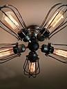 MAX 60W Montage du flux ,  Vintage Peintures Fonctionnalite for Style mini / Ampoule incluse MetalSalle de sejour / Chambre a coucher /