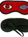 Mask Inspirerad av Naruto Hatake Kakashi Animé Cosplay Accessoarer Mask Röd Polar Fleece Man