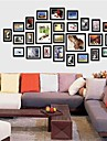 Black Foto Wall Frame Collection Set med 26